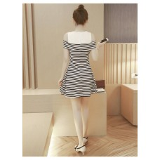 180312 ELF BOUTIQUE Imported Off Shoulder Dress/ Ready stock