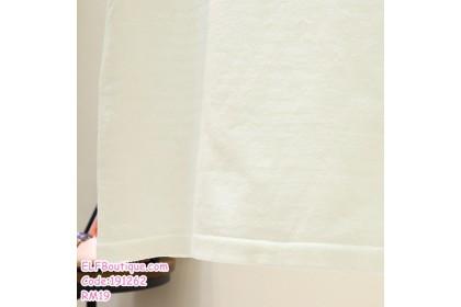 191262 READY STOCK Summer Korean Ladies Cotton T Shirt Black/Red/White